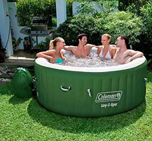 Coleman Lazy Spa Inflatable Hot Tub