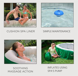 Inflatable Hot Tub Features