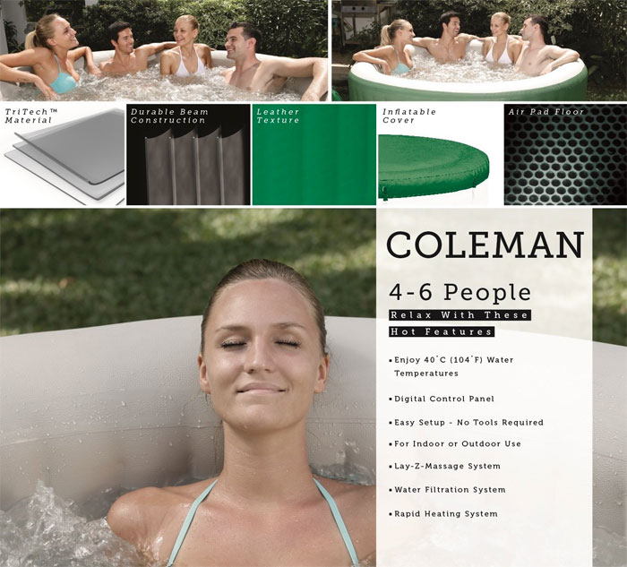 How the Coleman Lay-Z Spa is Made
