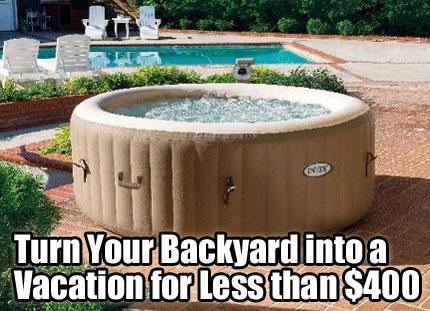 intex hot tub review: purespa inflatable hot tub