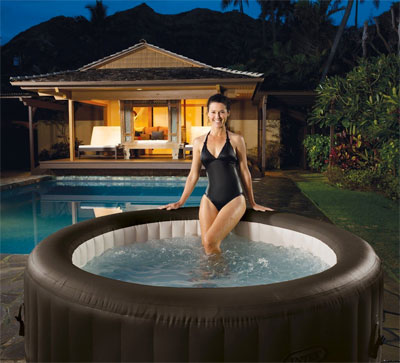 Pros and cons of inflatable hot tubs should you buy one for Resin tubs pros and cons