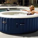 Intex PureSpa Plus 6-Person Inflatable Hot Tub